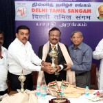 Dr Prabhakaran honoured by Delhi Tamil Sangam